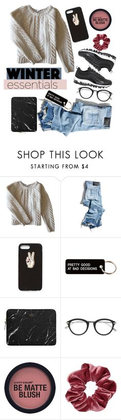 """Cozy af"" by valeria-pazmino-hernandez ❤ liked on Polyvore featuring Anine Bing, R13, Nasty Gal, Various Projects, Tom Ford and NIKE"