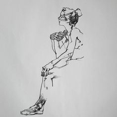 Conte on paper #art #drawing #figure #lifedrawing #aaroncoberly | von aaroncoberly