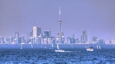 Toronto Skyline from Port Credit (Mississauga, Ontario)