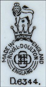 Royal Doulton Markings - Back Stamps and Trademarks - Antique HQ