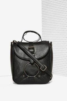 Nasty Gal x Nila Anthony Yes Your Harness Crossbody Bag
