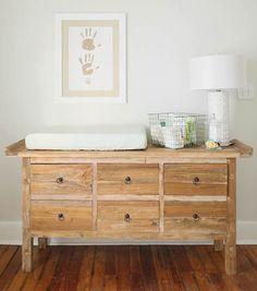18 idees per decorar la calaixera de l'habitació dels nens