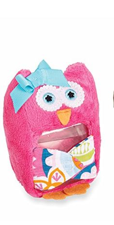 Mudpie Pink #Owl #OuchPouch #WhimsicalUmbrella