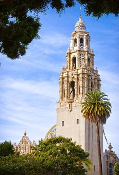 Did you hear?!? For the first time since 1935, Balboa Park's California Tower at the San Diego Museum of Man is open for public tours! If the weather is clear, you can see about 23 miles to the horizon! Visit the website for a full listing of all the views and for ticket information.