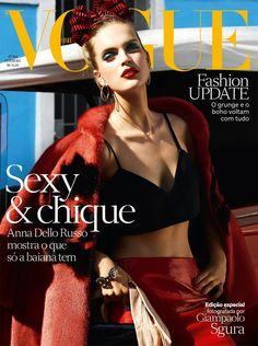 Capa destaque da Vogue Fevereiro.