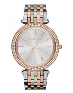 a798c9afce89 Just bought my Michael Kors Mid-Size Three-Tone Stainless Steel Darci Glitz  Watch.