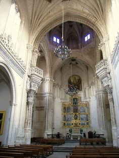 The Monastery of San Juan de los Reyes is a historic monastery in Toledo, Spain, built by the Catholic Monarchs .