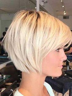 Stilig kort frisyrer 2018 Trendy Short Haircuts 2018 273 Best Short Hairstyles The Hottest 10 Siste Short Haircuts 2017, Short Choppy Haircuts, Short Bob Hairstyles, Hairstyles 2018, Short Female Haircuts, Hairstyle Short, Latest Hairstyles, Hairstyle Ideas, Popular Short Hairstyles