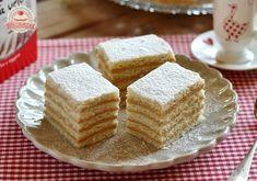 Békebeli karamell szelet Hungarian Recipes, Hungarian Food, Cornbread, Vanilla Cake, Food And Drink, Cookies, Ethnic Recipes, Culture, Hama