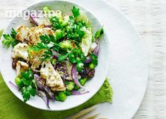 Ginger, garlic and toasted sesame seeds bring an unmistakable Asian flavour to this tasty salad