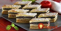 Vynikajúci koláčik, ktorý tiež volíme závin na plechu. je vynikajúci, šťavnatý a nikdy ho nebudete mať dosť. French Toast, Breakfast, Food, Basket, Sheet Cakes, Bakken, Morning Coffee, Essen, Meals