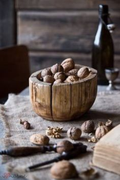 """Among nuts, the case may be made that walnuts are king, as research shows they may boost your health in a number of ways at very easy-to-achieve """"doses.""""Eating just one ounce of walnuts a day (that's about seven shelled walnuts) may be all it takes to take advantage of their beneficial properties. #healing  #adaptogens  #superfoods  #foodasmedicine  #plantbased  eating#fresh  #superfood  #eattherainbow  #nourish  #healthy"""