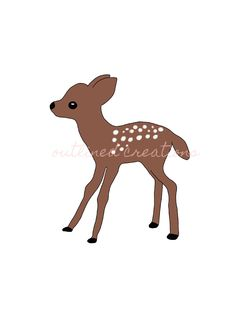 This enchanting little deer would look perfect when framed and hung up in a nursery or a kids room. You could even use it on a last-minute gift card Christmas card. When purchased you will receive a square and an sized jpeg file as well as a png file. Deer Decor, Last Minute Gifts, A4, Giraffe, Kids Room, Moose Art, Christmas Cards, Cute Animals, Nursery
