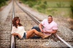 Our favorite engagement pics;) :  wedding country cowboy boots engagement railroad tracks rustic shabby chic southern 553467 10150949573683234 72452028233 233325620 1630291138 N