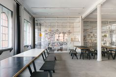 Olafur Eliasson's Office & Studio in Prenzlauer Berg, Berlin | Yellowtrace