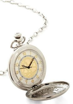 Old and New Pocket Watch Necklace, #ModCloth