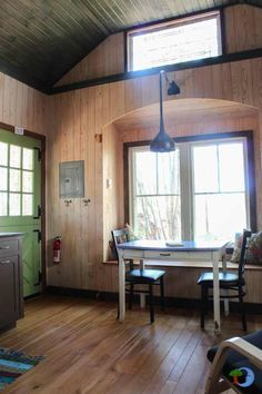 Moonshine Tiny House by Hobbitat Spaces in Garrett County