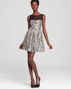 Holiday Party Dress: Aqua Party Dress - Pebble Shine | Bloomingdale's