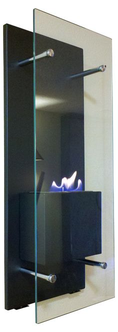 One Kings Lane - Fireside Style - Cannello Wall Mounted Fireplace