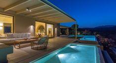 Luxury Beach Villas in Chania, Crete, Greece Stand Alone Bathtubs, Single Size Bed, Wood Burning Oven, Beach Villa, Beautiful Villas, Luxury Villa, Pergola, Outdoor Decor, Pool Ideas