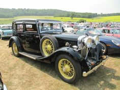 Talbot 65 Light 6, 1934 at Sherborne Castle classic car show