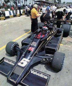Mario Andretti (Lotus-Ford) Grand Prix du Brésil - Interlagos 1977 - source F1 History & Legends.