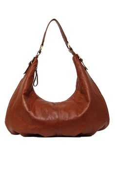 Manzoni Leather Shoulder Slouch Bag - Womens Handbags - Birdsnest Online Store