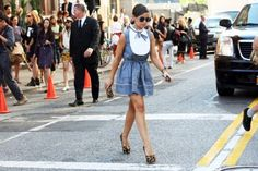 NYFW Spring 2013 Street Style : Lucky Magazine