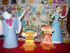 3D paper craft for Cinderrela's lovers! http://family.go.com/disney/pkg-disney-character-fun/pkg-disney-princess-cinderella/