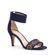 "Need these for my trip to Brazil, they match my navy jumpsuit (the one I don't have the guts to wear) perfectly!   Sole Society ""Vanya"", $69.95"
