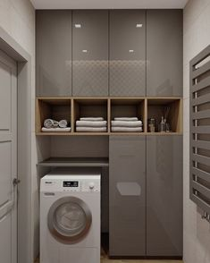 Laundry Room Ideas For Small Spaces That You Need It laundry laundryroom laundryroomideas &; Laundry Room Ideas For Small Spaces That You Need It laundry laundryroom laundryroomideas &; Laundry Room Cabinets, Laundry Room Organization, Laundry In Bathroom, Small Bathroom, Modern Kitchen Cabinets, Bathroom Cabinets, Bathroom Ideas, Kitchen Ideas, Bathroom Interior
