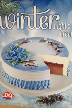 Dairy Queen Cake Birthday Sheet Cakes, Cool Birthday Cakes, Cookie Frosting, Buttercream Cake, Dairy Queen Cake, Cupcake Cakes, Cupcakes, Cake Piping, Rosette Cake
