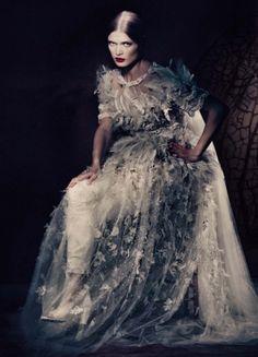 Mariacarla Boscono, Guinevere Van Seenus, Malgosia Bela by Paolo Roversi for Vogue Italia