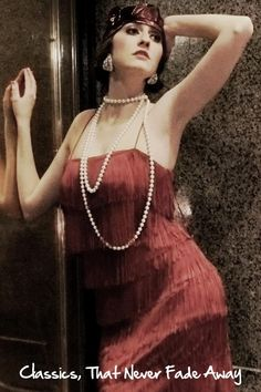 Recreating the Look Cheap Fashion Jewelry, Fashion Jewellery Online, 1920s Looks, She's A Lady, High Fashion Models, Honeymoon Packages, 1920s Style, Technology News, Hair Designs