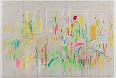 Esther TielemansStudiowall. 2012acrylic on plasterboard200 x 314 cm VIA