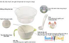 Bộ nấu cháo-cơm nát trong lò vi sóng - FamilyDeal.vn