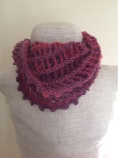 Undeniable Glitter: Lines & Dots Cowl