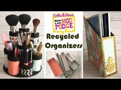 3 Organizing Hacks Using Recycled Materials - Cathie Filian & Steve Piacenza