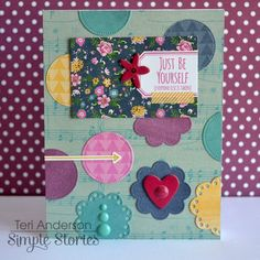 Card by design team member Teri Anderson
