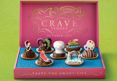 Crave Sidney Chocolate. Who wouldn't crave this?