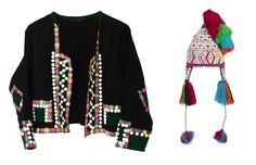 Peruvian Inspired chullo and blazer