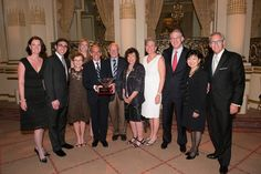 The Bridge Family receives the  Lifetime Achievement Award from the American Gem Society (AGS)!