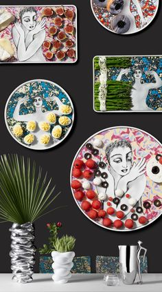 Pop Art - our latest and most vibrant ceramic range. Shop online now and get off your first purchase PLUS free delivery! South African Artists, Kitchen Utensils, Free Delivery, Pop Art, Vibrant, Range, Shop, Gifts, Wedding