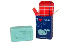 I Heart Water Whale Soap - NeatoShop