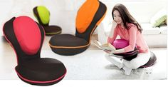 89.00$  Buy here - http://ali7g9.worldwells.pw/go.php?t=32258646916 - Yoga Chair Post For Office Exercise Tatami Floor Seat Zaisu Chair Folding Floor Cushion Stretch Yoga Exercise Chair 89.00$