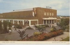 Empire Theatre & Shops Butlins Holidays, Leeds United Football, Park Playground, Camps, Vintage Postcards, Yorkshire, Childhood Memories, Theatre, Empire