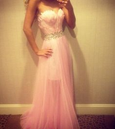 Wholesale - 2014 Sexy New Halter Lace Chiffon Prom Dresses Beaded Crystals Applique Floor Length Evening Gowns Elegant Dresses, Pretty Dresses, Beautiful Dresses, Amazing Dresses, Beaded Prom Dress, Strapless Dress Formal, Evening Dresses, Prom Dresses, Formal Dresses
