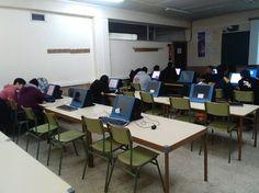 Preparando ordenadores: primer día. IES PINAR DE LA RUBIA VALLADOLID First Day, Computers