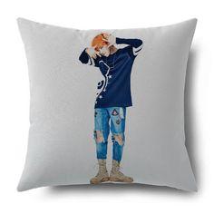 KPOP-Bigbang-G-Dragon-Thow-Hold-Pillow-GD-Bolster-Sofa-Cushion-Pillowcase-Cover