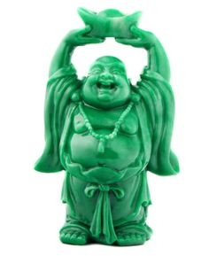 Faux Jade Finish Resin Standing Happy Buddha Statue -- Find out more about the great product at the image link.